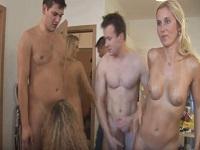 Vídeo porno de una orgía entre hermanos
